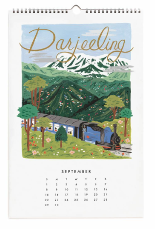 2019 World Traveler Calendar - 10