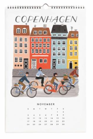 2019 World Traveler Calendar - 12