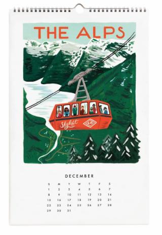 2019 World Traveler Calendar - 13
