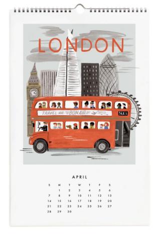 2019 World Traveler Calendar - 5