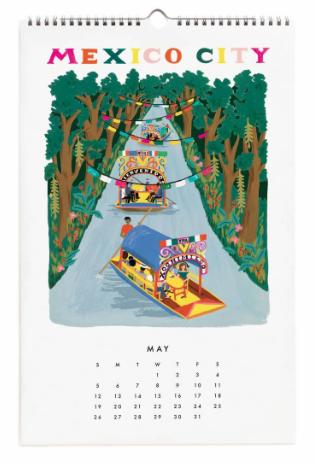 2019 World Traveler Calendar - 6