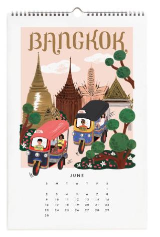 2019 World Traveler Calendar - 7