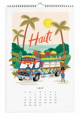 2019 World Traveler Calendar - 8