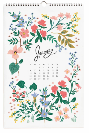 2019 Wildwood Calendar
