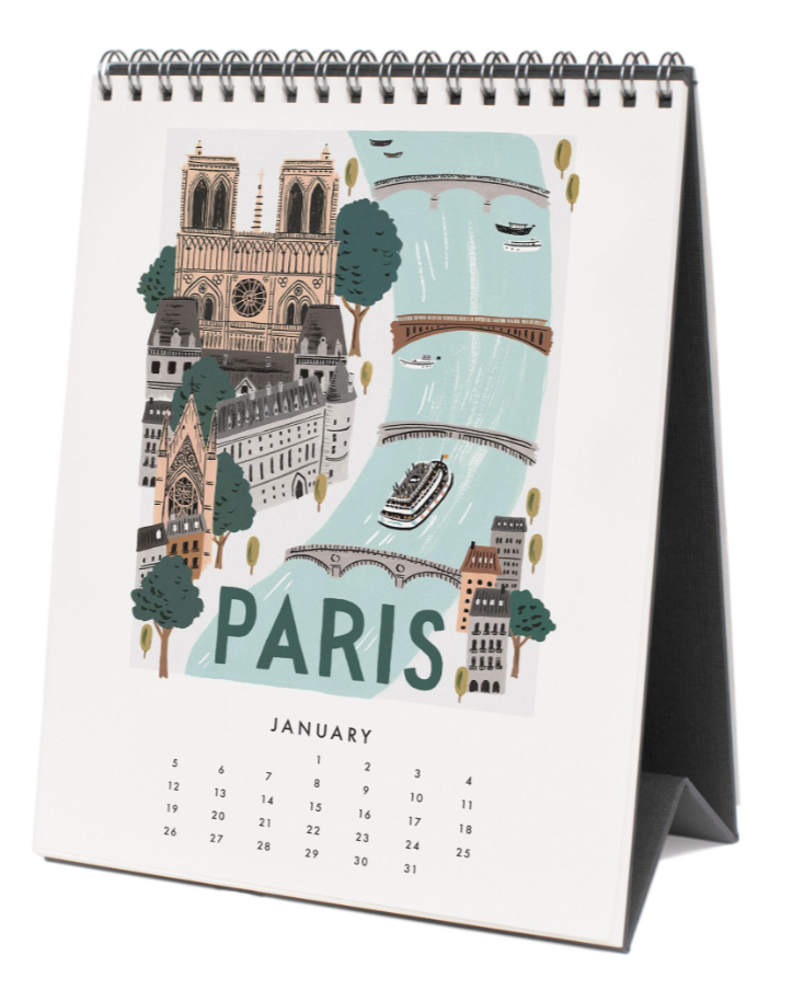 2020 World Traveler Calendar - 2