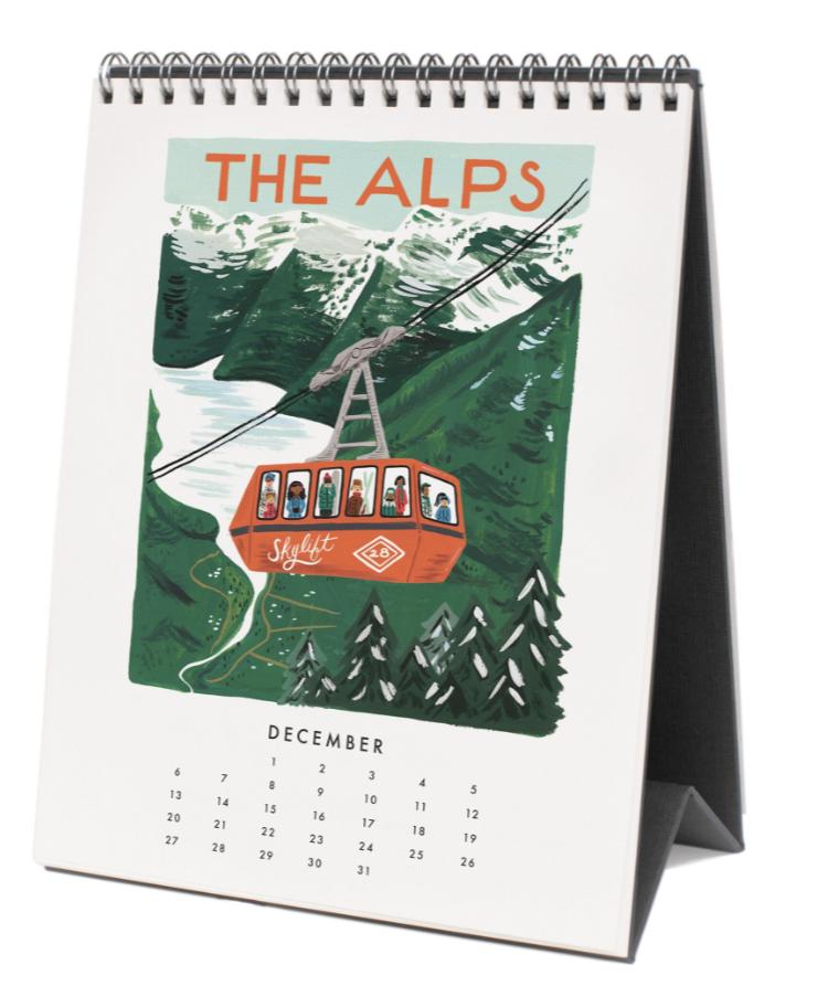 2020 World Traveler Calendar 13