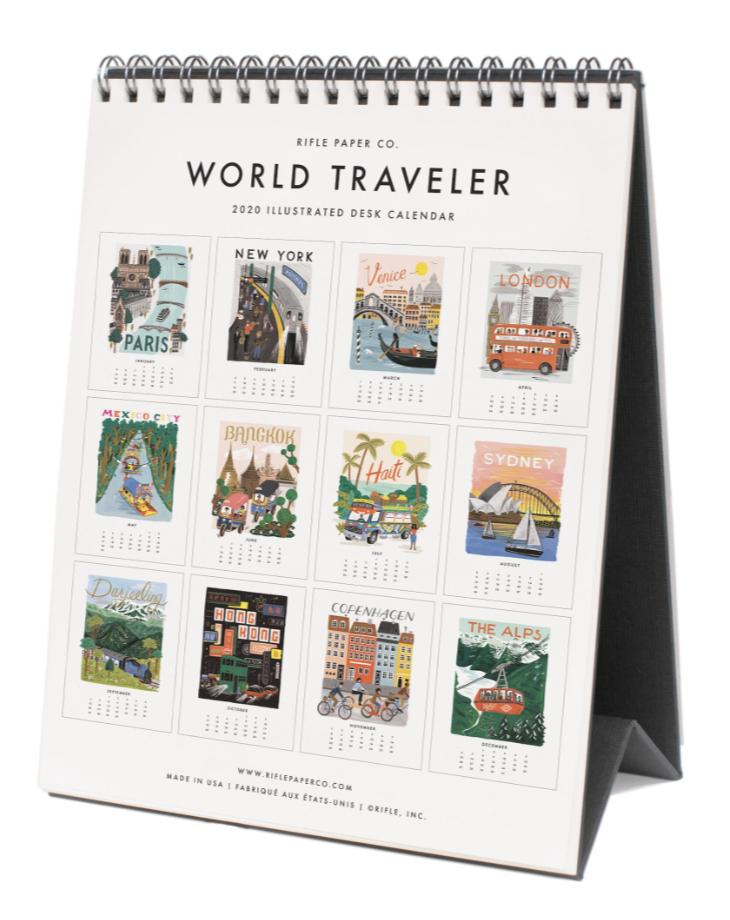 2020 World Traveler Calendar - 14