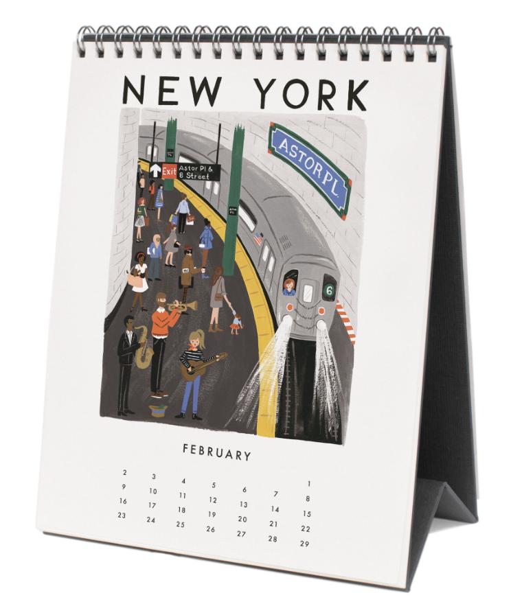 2020 World Traveler Calendar 3