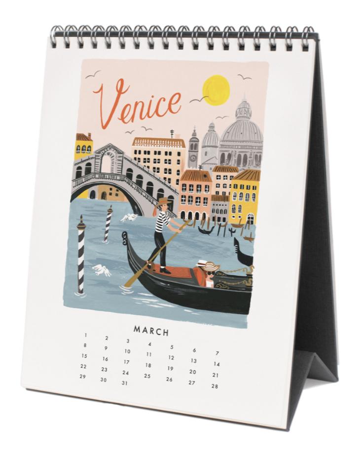 2020 World Traveler Calendar 4