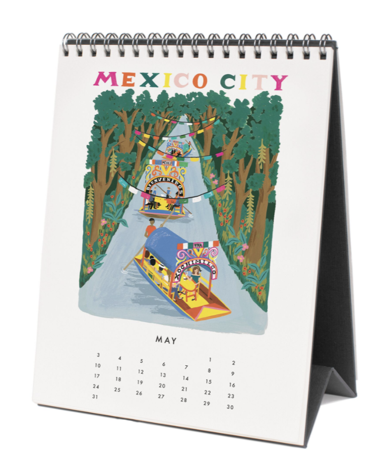 2020 World Traveler Calendar 6