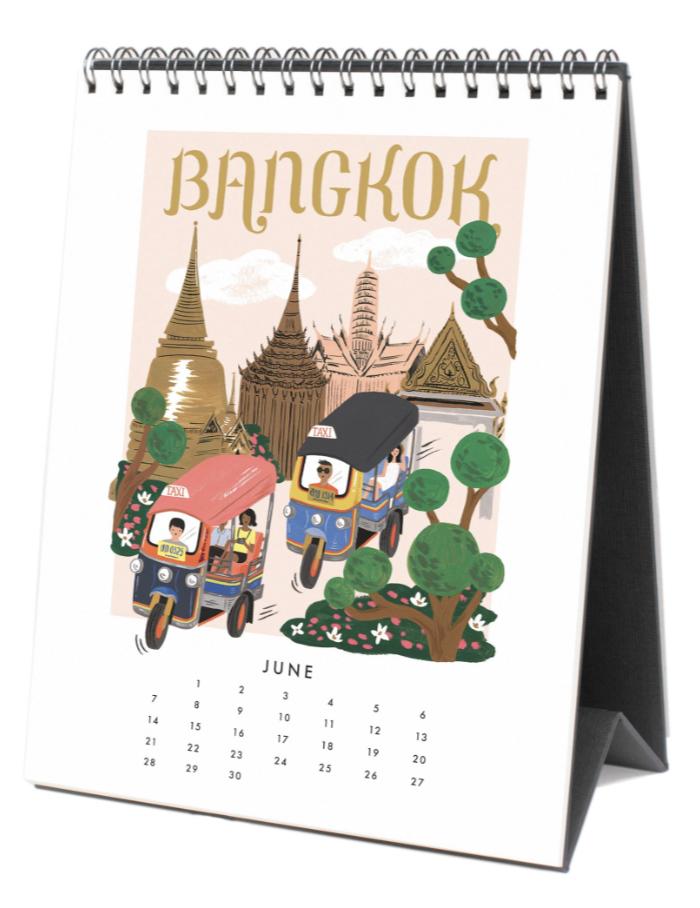 2020 World Traveler Calendar - 7