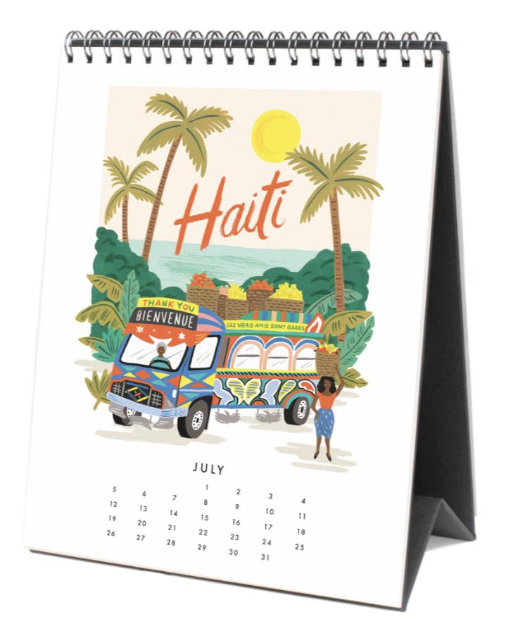 2020 World Traveler Calendar 8