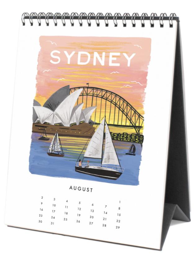 2020 World Traveler Calendar 9