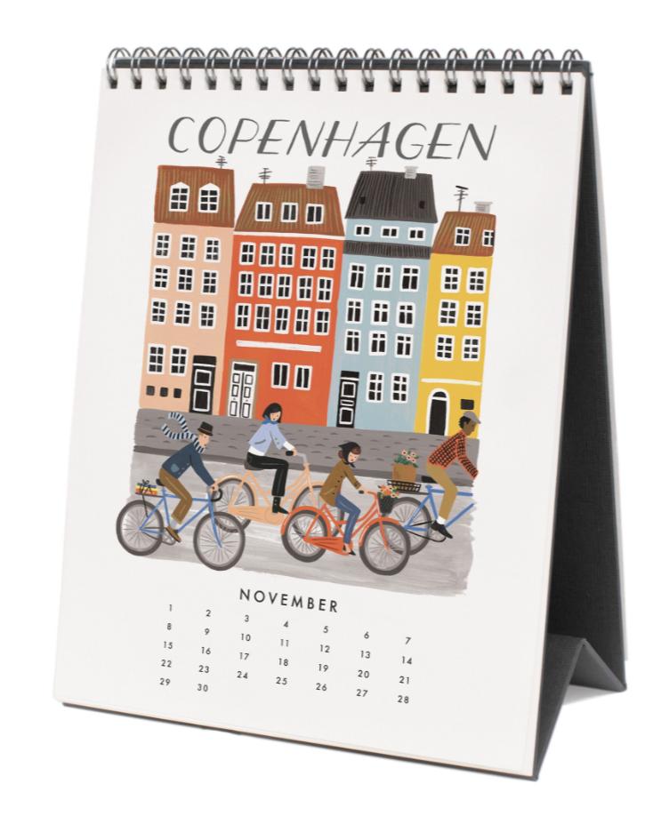 2020 World Traveler Calendar - 12