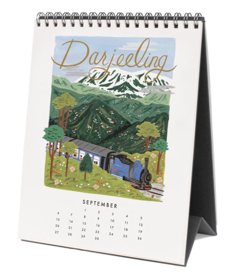 2020 World Traveler Calendar - 10