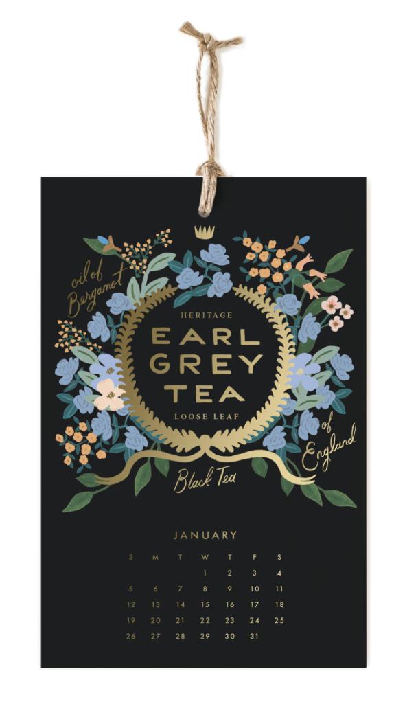 2020 Coffee & Tea Calendar 2