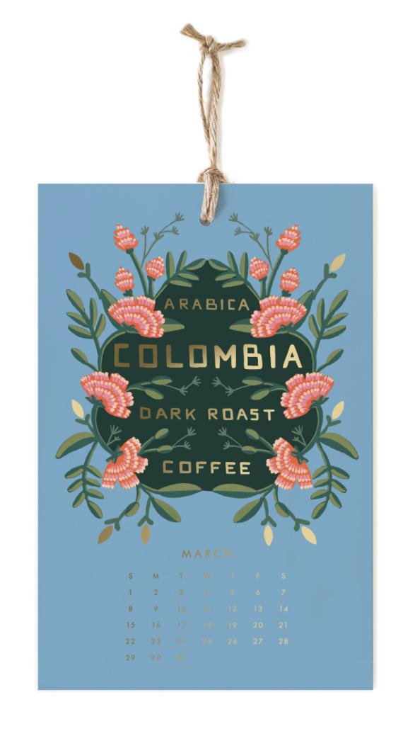 2020 Coffee & Tea Calendar 4