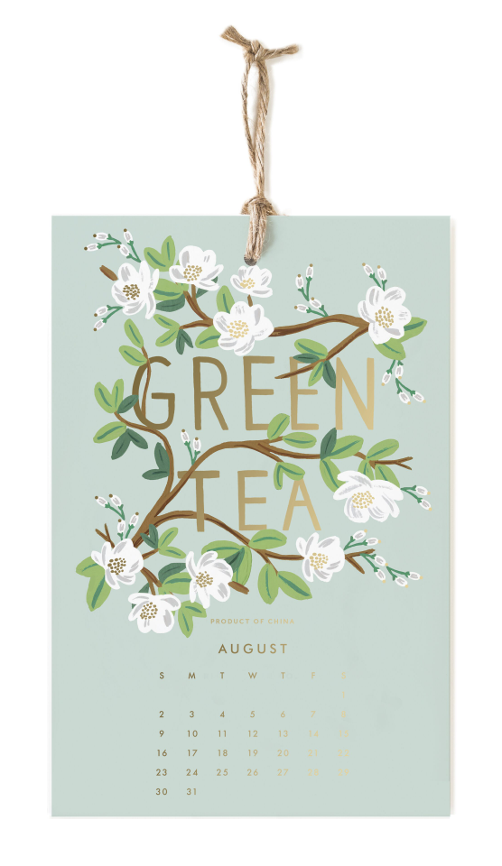 2020 Coffee & Tea Calendar 9