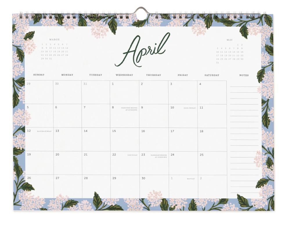 2020 Wild Rose Calendar 5