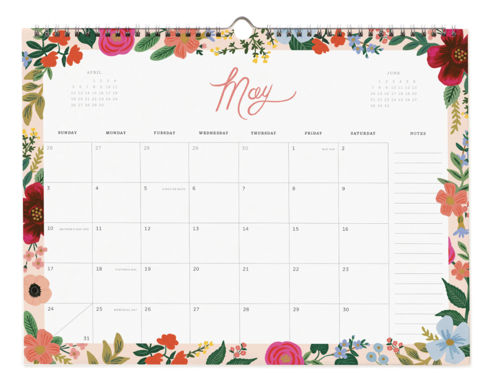 2020 Wild Rose Calendar 6
