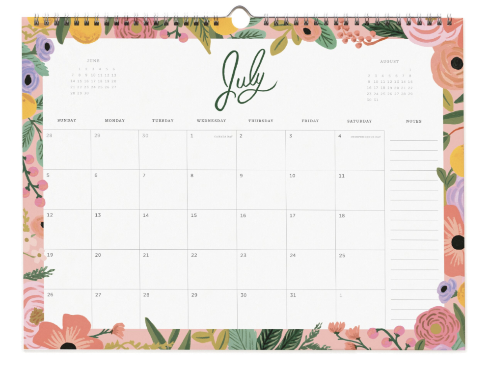 2020 Wild Rose Calendar - 8