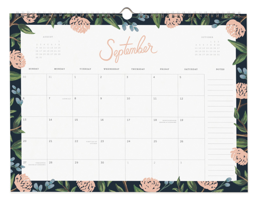 2020 Wild Rose Calendar 10