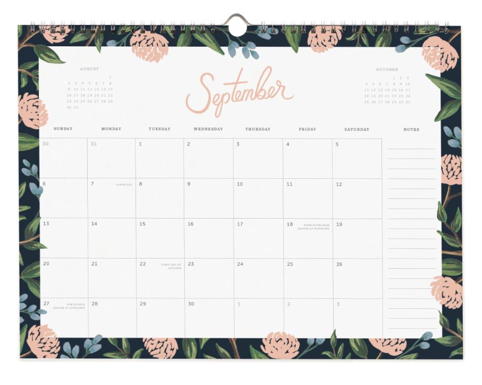 2020 Wild Rose Calendar - 10