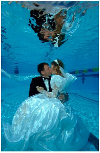 Under Water Wedding
