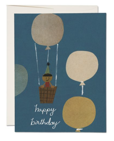 Hot Air Balloon Card - 1