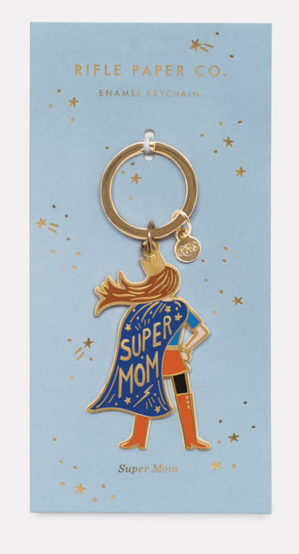 Super Mom Keychain 2