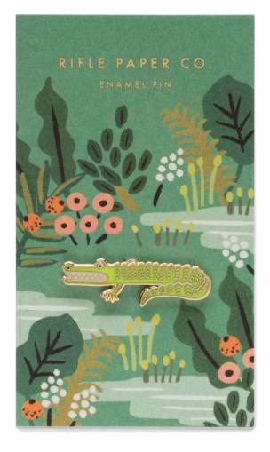 Alligator Enamel Pin
