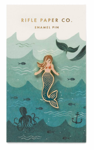 Mermaid Emaille Pin
