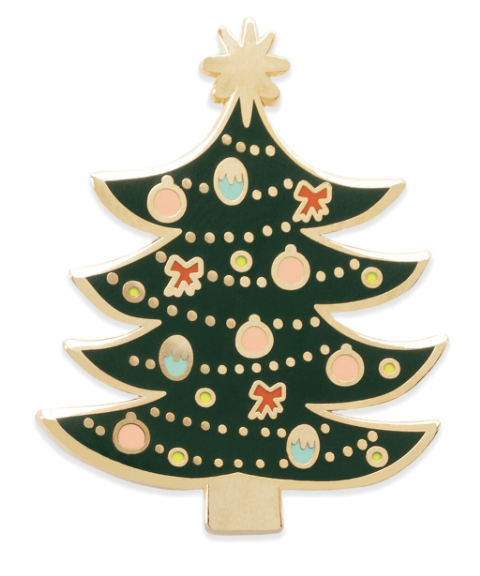 Christmas Tree Pin 2