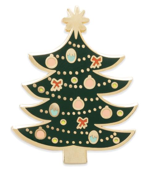 Christmas Tree Pin - 2