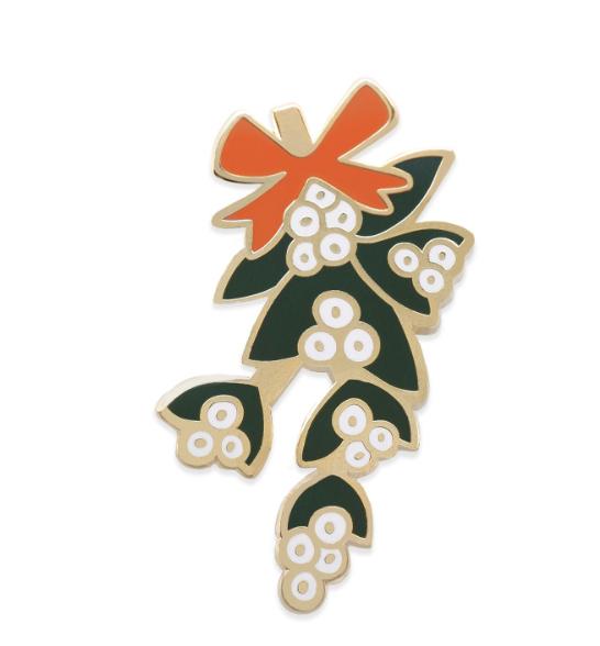 Mistletoe Pin 2