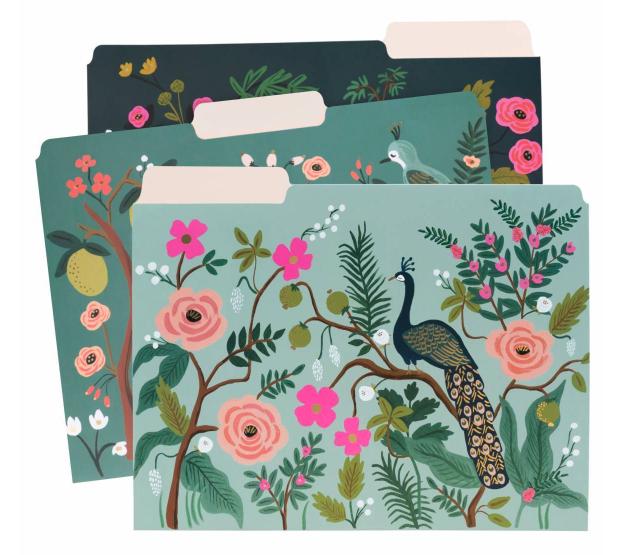 Shanghai Garden File Folders - 1