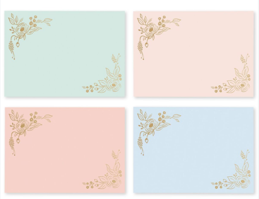 Collette Social Stationery 2