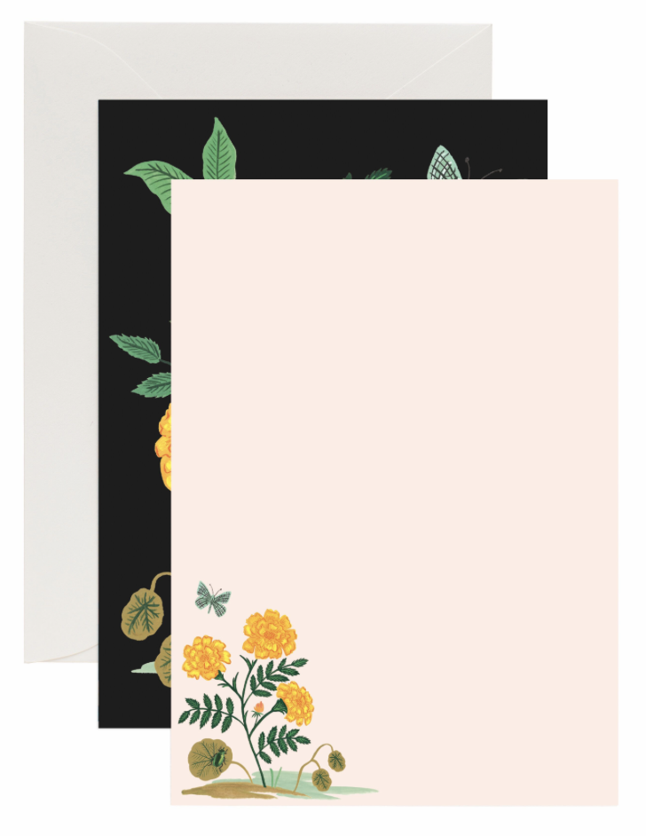 Botanical Social Stationery 3