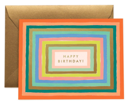 Disco Birthday Card