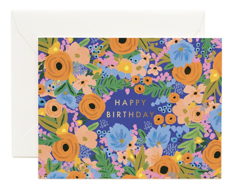 Simone Birthday Card - 1