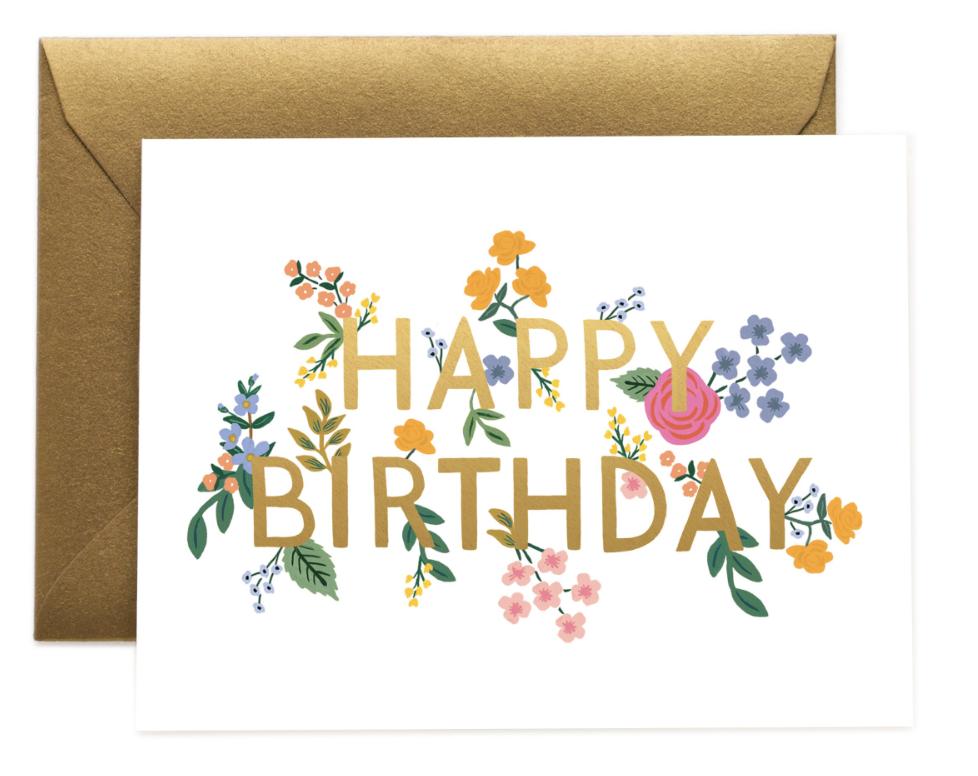 Wildwood Birthday Card