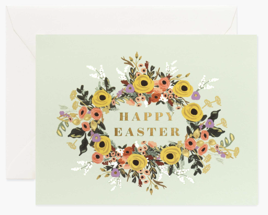 Easter Garden Card