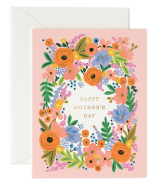 Mothers Day Floral Card