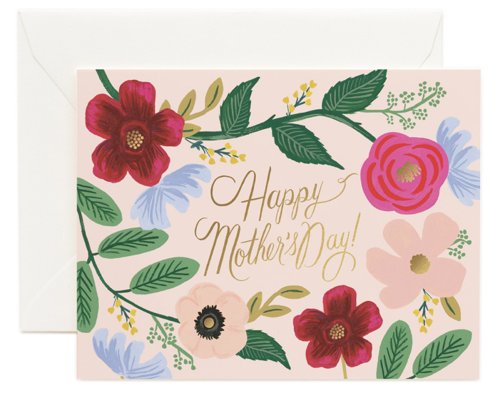 Wildflowers Mother s Day Card