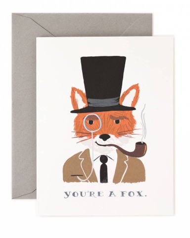 You re a Fox