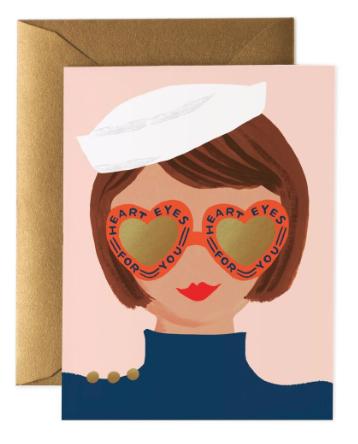 Heart Eyes Card