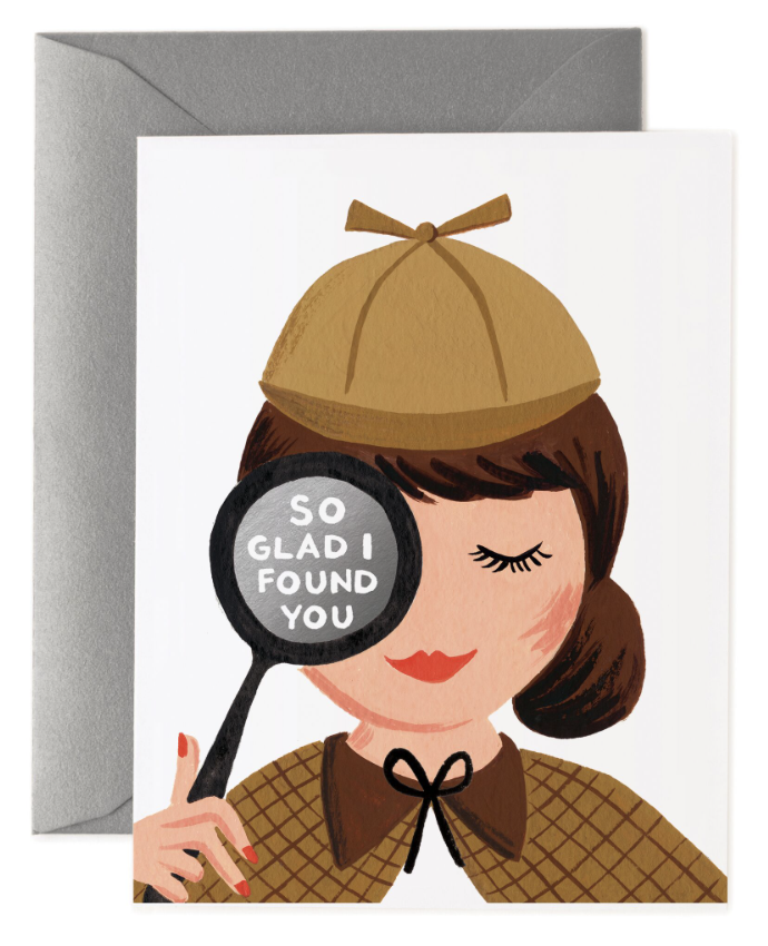 So Glad Found You Card