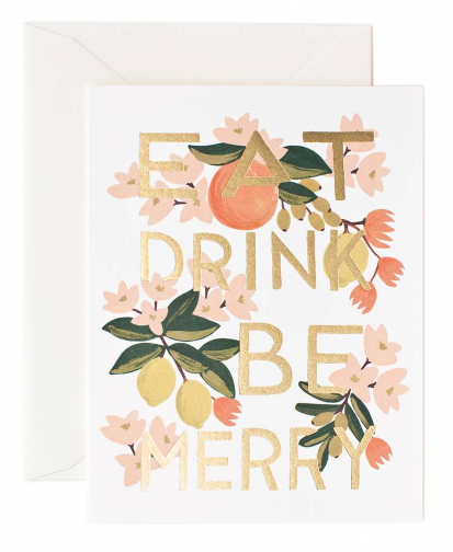 Eat Drink Be Merry