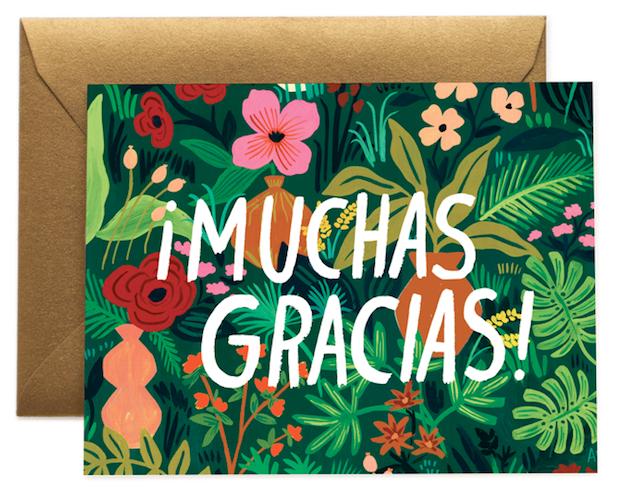 Muchas Gracias - 1