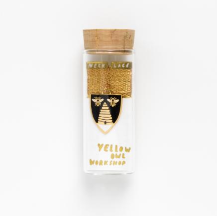 Bee & Hive Pendant - 1